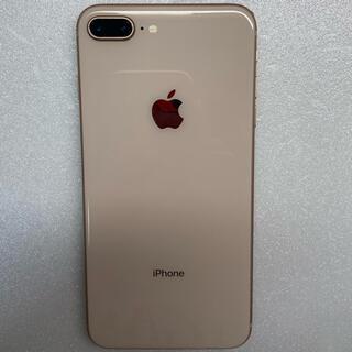 アイフォーン(iPhone)のiphone8 Plus Gold 64Gb simフリーバッテリー90%(スマートフォン本体)