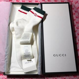 グッチ(Gucci)のグッチ(GUCCI)⭐️新品未使用 靴下⭐️メンズソックス(ソックス)