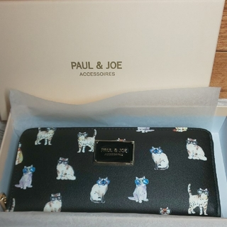 ポールアンドジョー(PAUL & JOE)のPAUL & JOE サングラスキャット ラウンド長財布(財布)