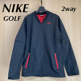 ナイキ(NIKE)のNIKE ナイキ ゴルフ メンズ S 2way ナイロン ジャケット ピステ(ウエア)