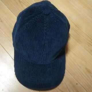 ザラ(ZARA)のザラZARAオシャレなコーデュロイキャップハット帽子ニット帽(キャップ)