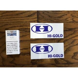 ハイゴールド(HI-GOLD)のHI-GOLD ハイゴールド 切り文字ステッカー カッティングステッカー 野球(その他)