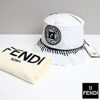 フェンディ(FENDI)の新品 Fendi x Joshua Vides リバーシブルバケットハット(ハット)