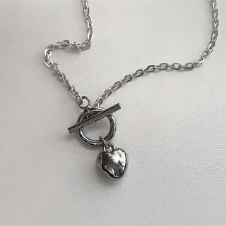 バブルス(Bubbles)のSilver heart necklace ♡(ネックレス)