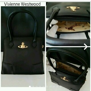ヴィヴィアンウエストウッド(Vivienne Westwood)のヴィヴィアン ウエストウッド☆オーブ☆レザー☆バッグ(ハンドバッグ)