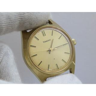 セイコー(SEIKO)のSEIKO TOMONY 手巻き腕時計 ゴールド ヴィンテージ(腕時計(アナログ))