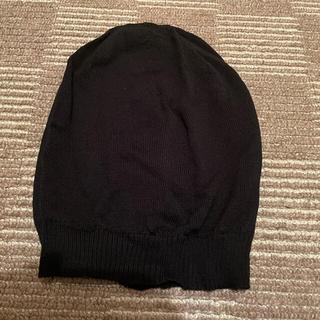 リックオウエンス(Rick Owens)のrick owens ニット帽(ニット帽/ビーニー)