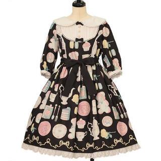 アンジェリックプリティー(Angelic Pretty)のAngelic  Pretty Doll's Tea Party ワンピース(ひざ丈ワンピース)