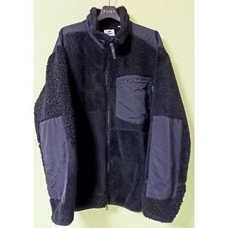 エンジニアードガーメンツ(Engineered Garments)のエンジニアードガーメンツ×ユニクロ ZIP ボアフリース ブラック サイズXL(ブルゾン)