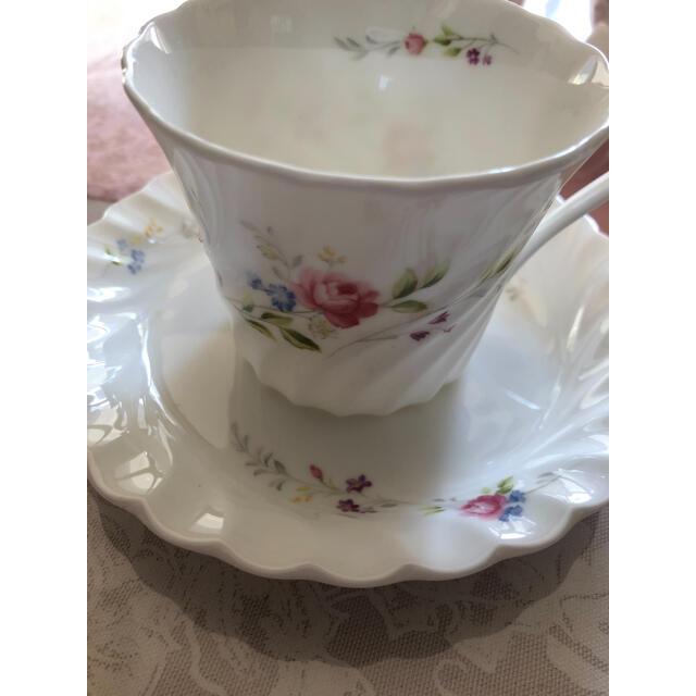NIKKO(ニッコー)のNIKKO アラカルトプレート マグカップ クリーマー 砂糖入れ 小皿 インテリア/住まい/日用品のキッチン/食器(食器)の商品写真