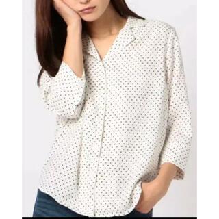 アンレリッシュ(UNRELISH)のUNRELISHのドットシャツ(シャツ/ブラウス(長袖/七分))