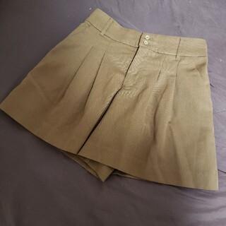 ハニーズ(HONEYS)の【GLACIER】ブラウンキュロットスカート ショートパンツ(キュロット)