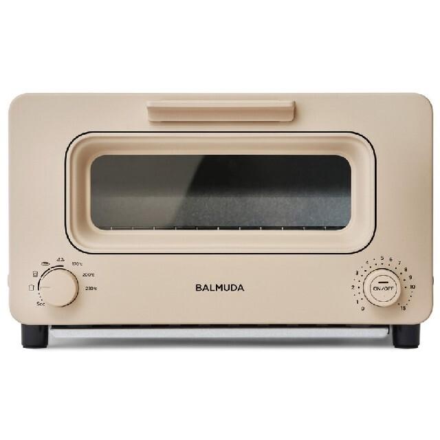 BALMUDA(バルミューダ)の新品未使用未開封 BALMUDA  トースター ベージュ スマホ/家電/カメラの調理家電(その他)の商品写真