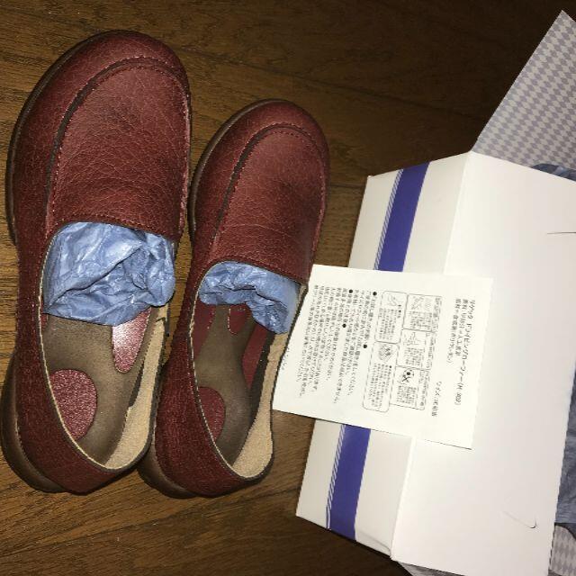 Re:getA(リゲッタ)のリゲッタ Re:getA R-302 ドライビングローファー レッドブラウン レディースの靴/シューズ(ローファー/革靴)の商品写真