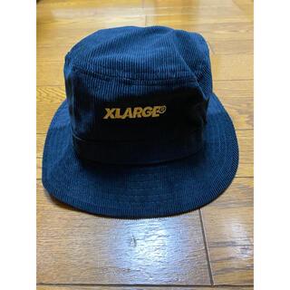 エクストララージ(XLARGE)のXlarge 薄手コーデュロイ HAT ネイビー(ハット)