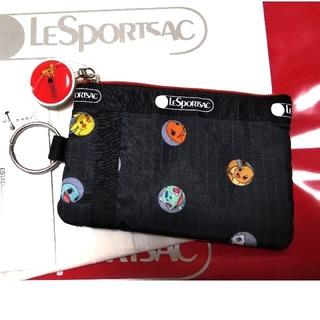 レスポートサック(LeSportsac)のID CARD CASE ポケモン ドット  レスポートサック(パスケース/IDカードホルダー)