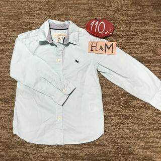 エイチアンドエム(H&M)のH&M 110㎝ カラーシャツ(Tシャツ/カットソー)