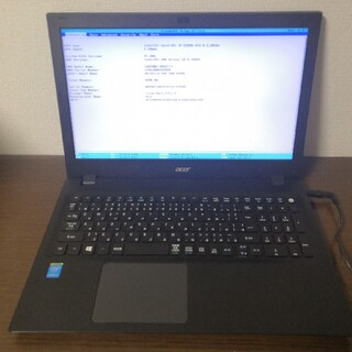 エイサー(Acer)のAcer Travel Mate P257 Core i5-5200U(ノートPC)