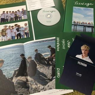 セブンティーン(SEVENTEEN)の seventeen アルバム teen age green(K-POP/アジア)