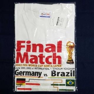 アディダス(adidas)の2002 サッカー FIFAワールドカップ 決勝 競技場限定Tシャツ 新品未使用(記念品/関連グッズ)