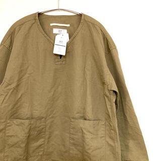 エディフィス(EDIFICE)の【新品、タグ付き】417 EDIFICE エディフィス スキッパー シャツ(シャツ)
