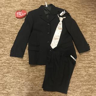 美品‼︎ 男の子 130㎝ 毛99% スーツセット(ドレス/フォーマル)