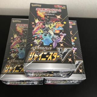 ポケモン(ポケモン)の【未開封3BOX】ポケモン ソード&シールド シャイニースターV (Box/デッキ/パック)