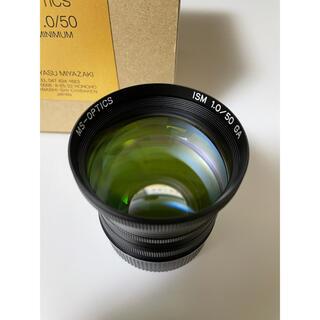 LEICA - 宮崎光学 MS-OPTICS  ISM 50mm F1.0 Black(M)