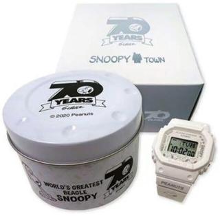 スヌーピー(SNOOPY)のBABY-G PEANUTS 70周年記念モデル Gショック スヌーピー(腕時計)