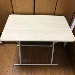 ヤマゼン(山善)の山善 折りたたみデスク 折りたたみテーブル(折たたみテーブル)