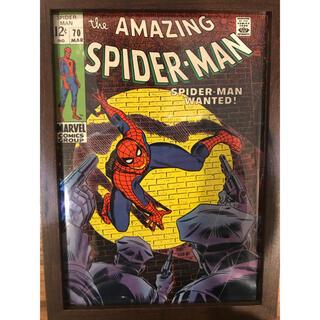 マーベル(MARVEL)のアメコミ Amazing spider man #70 W/P 1969年(アメコミ/海外作品)