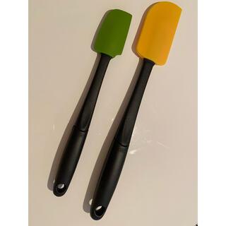 アクタス(ACTUS)のOXO★オクソー・スパチュラ2本(オレンジ、グリーン)(調理道具/製菓道具)