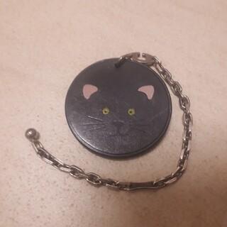 エルメス(Hermes)のHERMES エルメス 猫 ネコ チャーム キーホルダー バッグチャーム(キーホルダー)