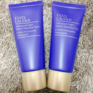 エスティローダー(Estee Lauder)のエスティローダー アドバンスナイトマイクロクレンジングフォーム 30ML 洗顔料(クレンジング/メイク落とし)