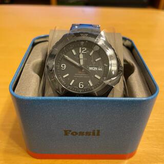 FOSSIL - FOSSIL FB-02 ブラックステンレススチールウォッチ