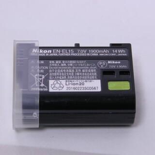 ニコン(Nikon)のNikon バッテリー 劣化度0 EN-EL15 (バッテリー/充電器)