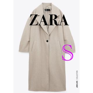 ZARA - ZARA⭐️オーバーサイズコート ロングチェスターコート 2020AW