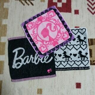 バービー(Barbie)のキンリサ様専用 Barbie ハンドタオル 3枚セット(タオル/バス用品)
