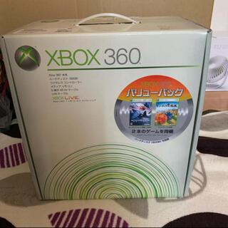 エックスボックス(Xbox)のXBOX360 60GB バリューパック 2本ゲーム同梱(家庭用ゲーム機本体)