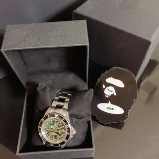 アベイシングエイプ(A BATHING APE)のbape 腕時計(腕時計)