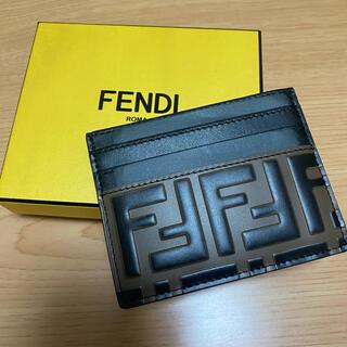 フェンディ(FENDI)のFENDI カードケース◇新品未使用(名刺入れ/定期入れ)