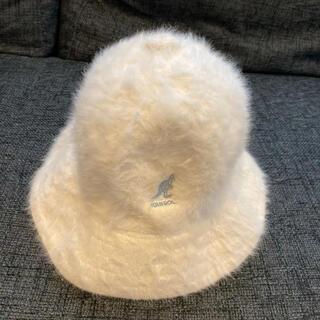 KANGOL - KANGOL バケットハット バケハ カンゴール 帽子 ホワイト 白