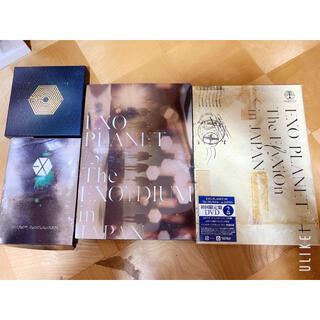 エクソ(EXO)のEXO DVD EXOPLANET#1〜#4(ミュージック)
