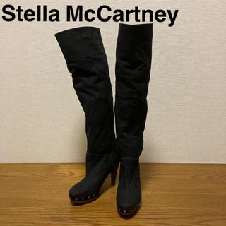 ステラマッカートニー(Stella McCartney)のステラマッカートニー■ロングブーツ■スタッズ■37■ウッドソール(ブーツ)