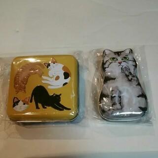 カルディ(KALDI)のカルディ 猫の日 ネコミニ缶とミニねこ缶セット 1(菓子/デザート)