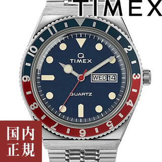 タイメックス(TIMEX)の【新品未使用】タイメックス Q TIMEX '70 復刻モデル ペプシカラー (腕時計(アナログ))