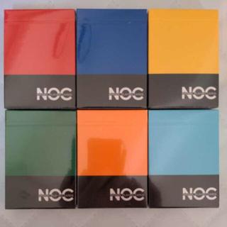 NOC playing cards V2 6色 新品 6デック 送料無料(トランプ/UNO)