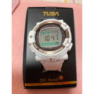 TUSA - TUSA デジタルスキューバーダイビングウォッチ(ホワイト)