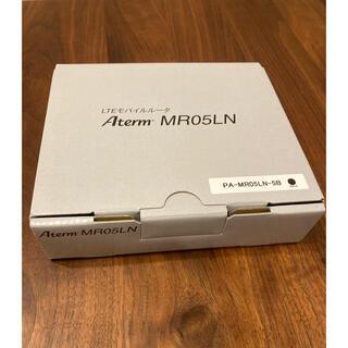 NEC - 【未使用】LTEモバイルルーター デュアルsim対応 Aterm MR05LN