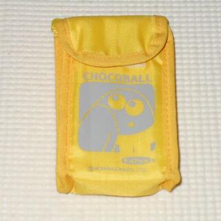 モリナガセイカ(森永製菓)のキョロちゃん 保冷ケース おでかけホルダー チョコボール1つ入るサイズです(ノベルティグッズ)